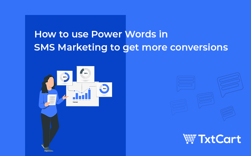 power words in sms marketing shopify