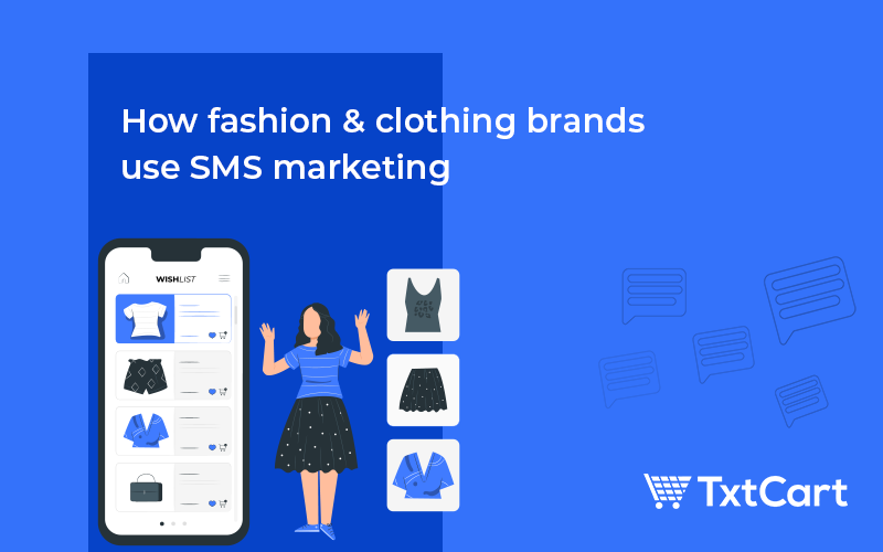 fashion and clothing - shopify sms marketing