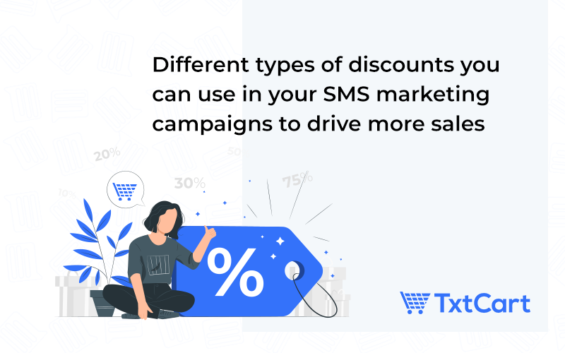 different types of discounts in sms marketing